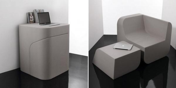 Мебель-трансформер от Китмена Кеунга (Kitmen Keung)