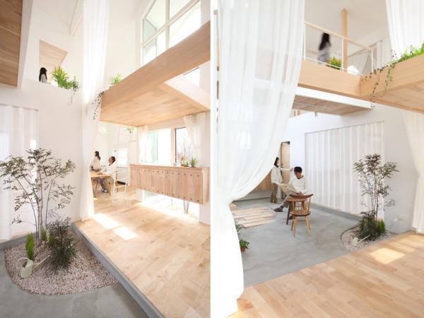 Жилой дом Kofunaki house в Японии