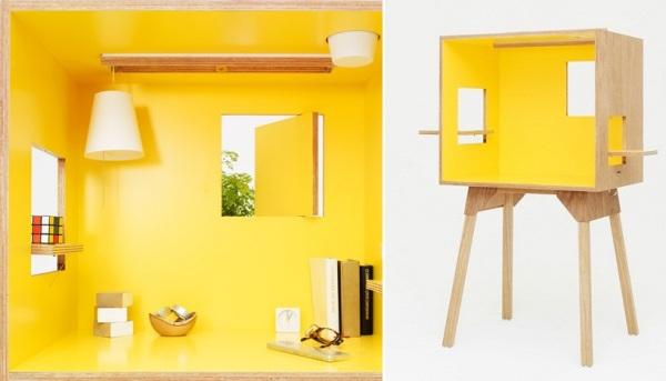 Koloro-desk - кабинет от Torafu Architects