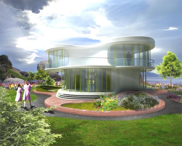 Интеллектуальная эко-школа будущего от LAVA