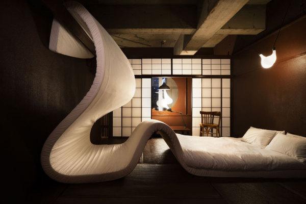 Временный отель LLAYERS LLOVE HOTEL от Sschemata. Tokyo Designers Week 2010