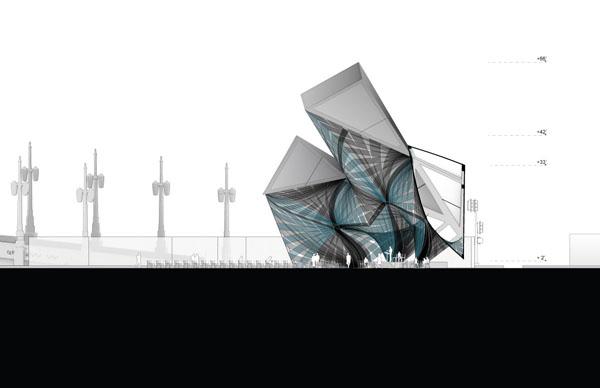 Проект League of Shadows Pavilion от PATTERNS в Лос-Анджелесе