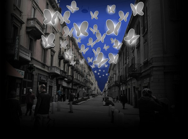 Проект Light Butterflies от Chiara Lampugnani в Италии