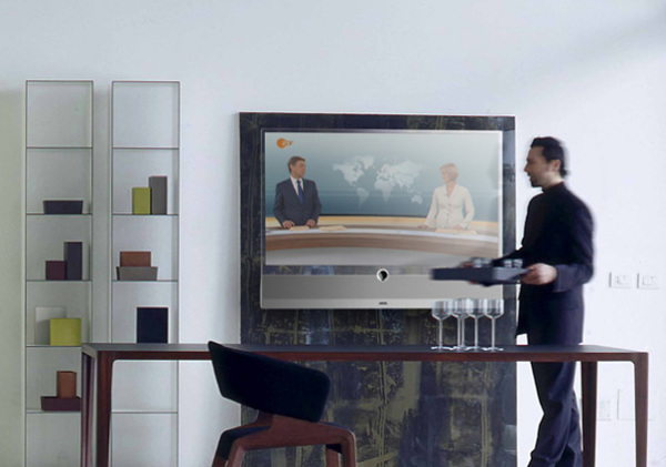Прозрачный телевизор Loewe INVISIO от Мишеля Фриба (Michael Friebe)