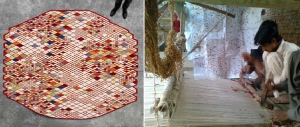 Losanges - коллекция ковров от Ronan & Erwan Bouroullec