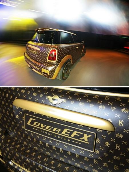 Автомобиль Louis Vuitton Mini Cooper от CoverEFX