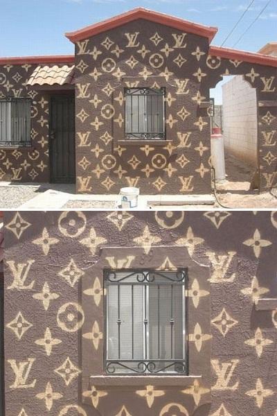 Жилой дом в Мексике, оформленный в стиле «Louis Vuitton»