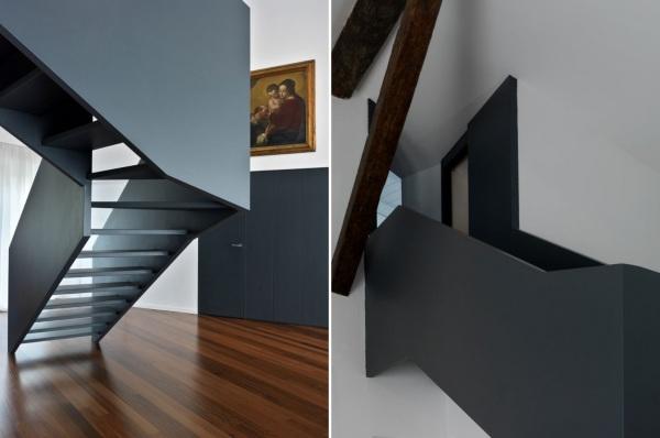Интерьеры квартиры M2 House от Studio Associato Bettinelli