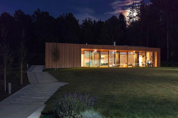 MJ House – загородный дом от Kombinat в Словении