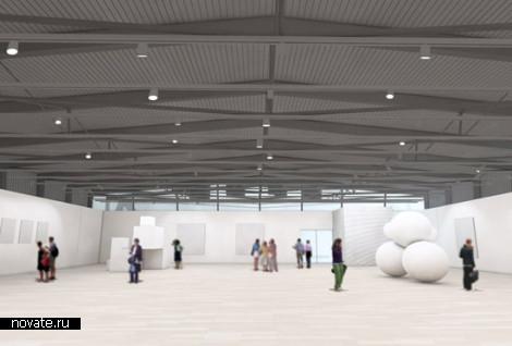 Проект музея современных искусств MOCA в Кливленде