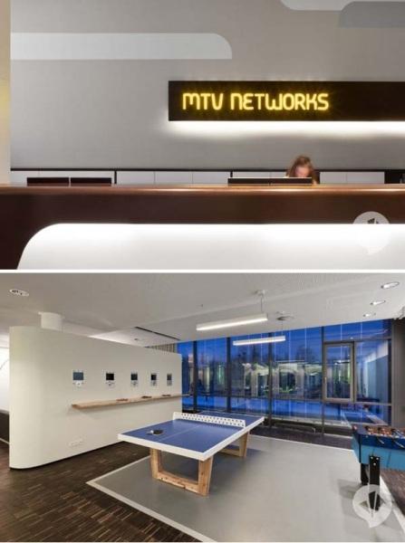 Редизайн офиса MTV в Берлине от Dan Pearlman