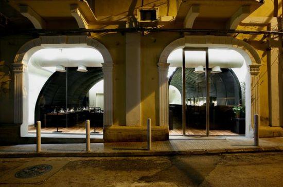 Футуристический лофт от PAUL KALOUSTIAN. Ресторан-бар MYU в Бейруте