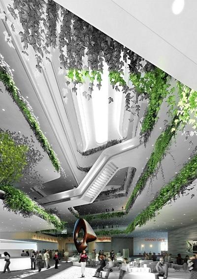Проект M-City – ультра-современная интерпретация классической греческой архитектуры