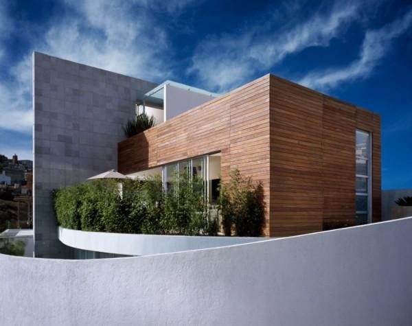 M-House - уникальный дом-композиция с зелеными террасами в Мехико (Мексика)