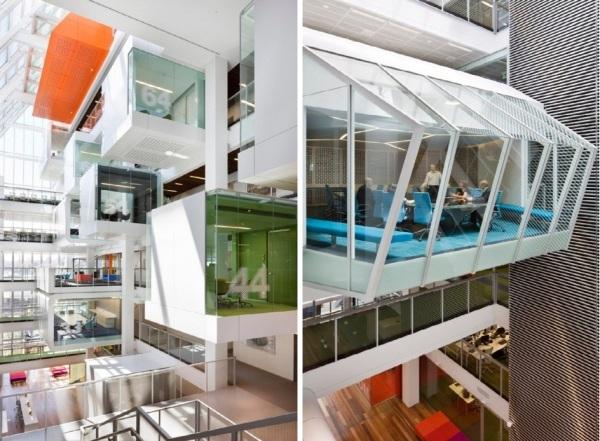 Интерьер австралийского филиала Macquarie Bank от Clive Wilkinson Architects