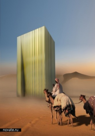 Проект мечети Mantle в Дубаях