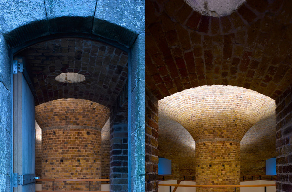 Реконструированный форт Martello Tower Y в Великобритани