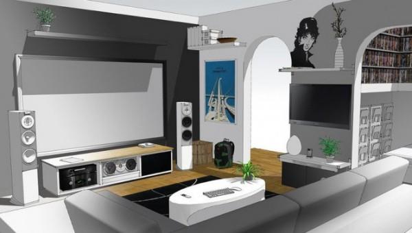 Дизайн квартира для студента