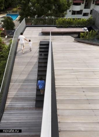 Maximum Garden House – дом-сад от Formwerkz Architects в Сингапуре