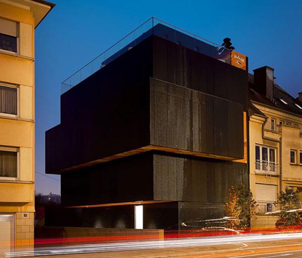 Уникальный дом-скульптура от Metaform Architects в Люксембурге