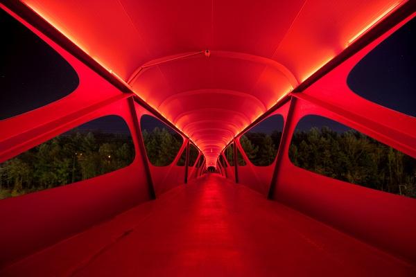 Пешеходный мост от Metaform Architects в Люксембурге