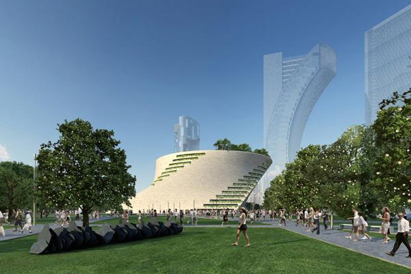 Проект музея Museum of Contemporary Art in Milan от Даниэля Либскинда (Daniel Libeskind)