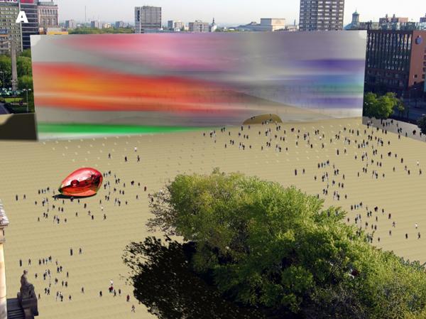 Проект музея MoMA в Варшаве (Польша) от ALA Architects