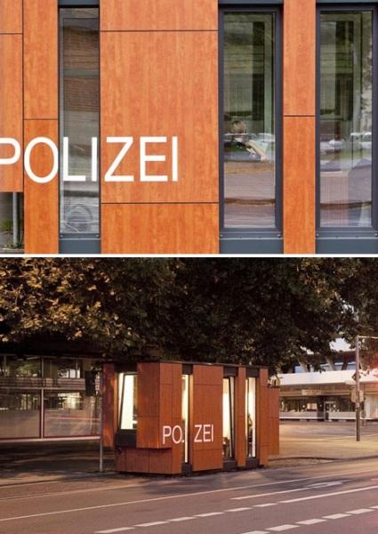 Мобильный полицейский участок нового поколения в Ганновере от Gesamtkonzept