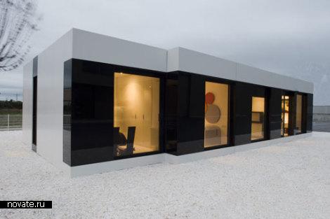 Элегантный модульный дом Modern White Modular House от A-Cero