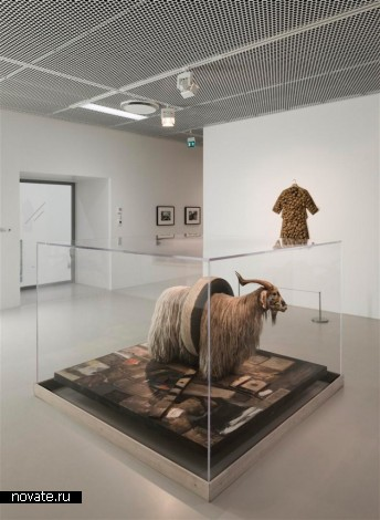 Здание нового музея Moderna Museet в Мальме (Швеция)