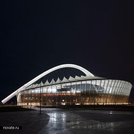 Стадион Moses Mabhida Stadium в Дурбане