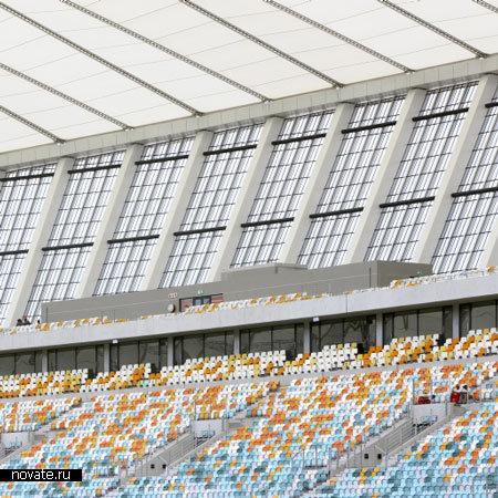 Стадион Moses Mabhida Stadium в ЮАР
