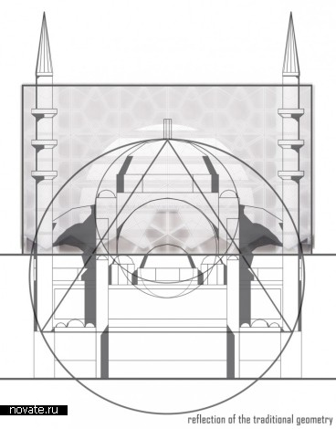 Проект мечети Mosque Proposal от StudiOZ