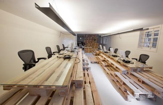 Эко-интерьер офиса от Most Architecture в Амстердаме