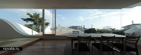 Жилой дом Mountains & Opening House от Eastern Design Office в Японии