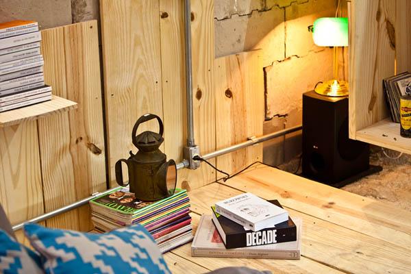 Multimedia Library – мультимедийное пространство в «запасной» комнате
