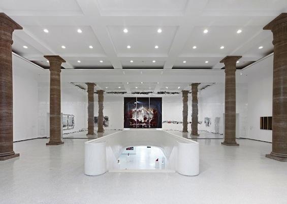 Креативное подземное расширение старинного здания музея во Франкфурте-на-Майне