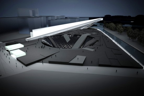 Концептуальный проект мемориального комплекса Museum of World War II в Гданське от ARHIS