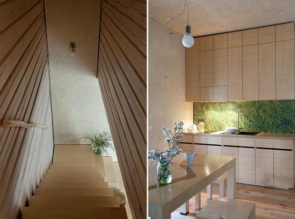 Home in the Log Cabin – эко-дом от украинских дизайнеров