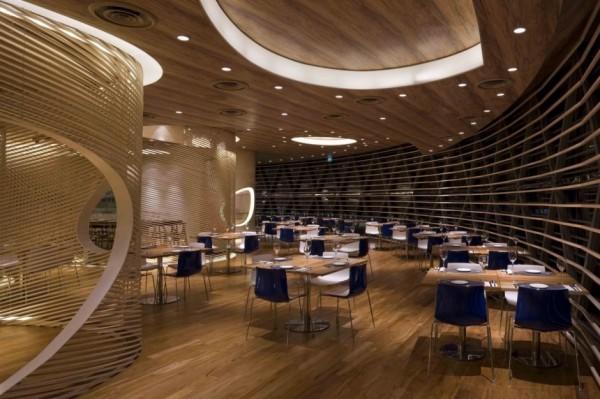 Интерьер ресторана Nautilus Project от Design Spirits