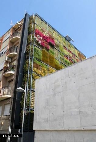 Вертикальный гзон New Green Wall в Испании