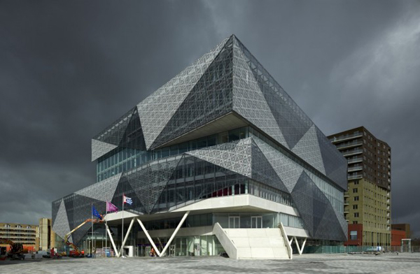 Проект комплекса Nieuwegein City Hall and Cultural Center от 3XN Architects