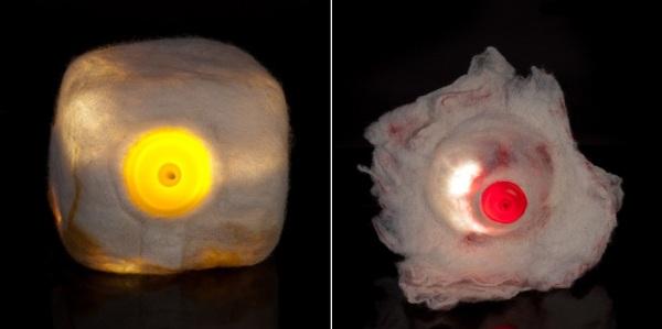 Nipple lights - коллекция светильников от Наама Арбель (Naama Arbel)