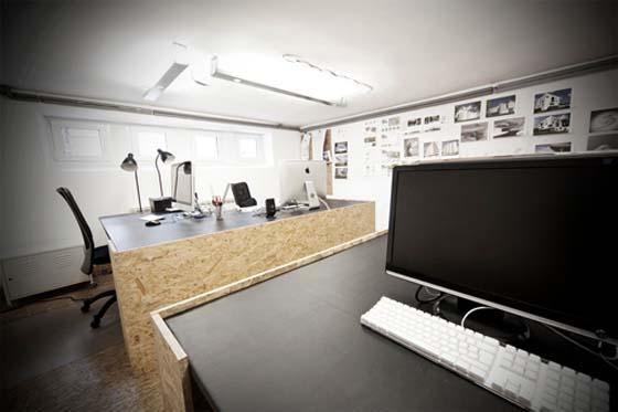«Недешевый интерьер» из недорогих материалов. OSB OFFICE от и для mode:lina