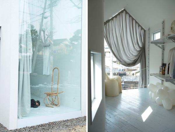 Узкий минималистский дом O House в Киото от Hideyuki Nakayama Architecture