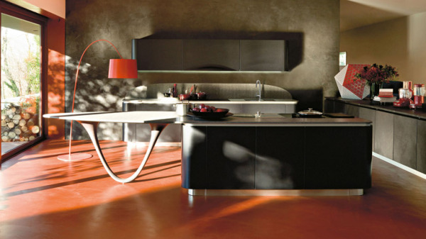 Обновленная коллекция кухонь Ola от Snaidero и Pininfarina Extra