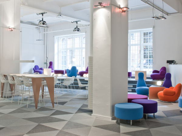 On Cloud Nine - стокгольмская штаб-квартира компании Skype от PS Architectur