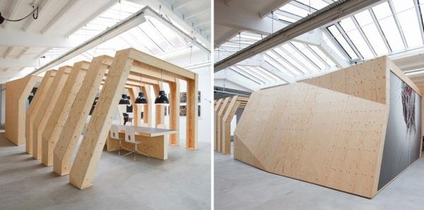 Onesize interior - концептуальный офис от Origins Architects