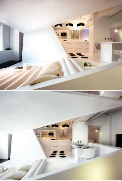 Оригами-лофт в Барселоне