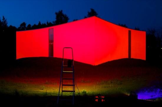 Новое здание галереи современного искусства Orsta Gallery в Швеции